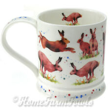 Nouveau dunoon fine bone china mug/wild country par kate Mawdsley/wild country lièvre