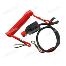Universal Boat Outboard Motor Stop Safety Kill Schalter New Tether Cord Lanyard