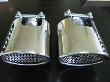 Jaguar XK8 XKR V.Large Baffled Oval Exhaust Tail Trims / Finishers