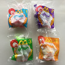 Teletubbies McDonald's Toys Complete Set of 4 2000 New Mint Condition!