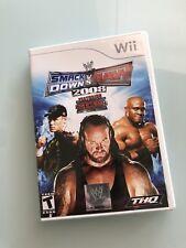 WWE SmackDown vs. Raw 2008 Featuring ECW (Nintendo Wii, 2007)