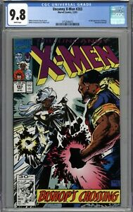 Uncanny X-Men #283 CGC 9.8 NM/MT 1st Full Appearance of Bishop WHITE PAGES