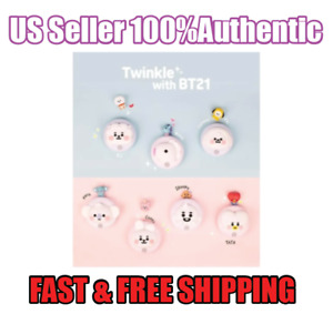 BTS BT21 New Sensor Mood Lamp Silicon Lamp Official 100% Authentic Kpop Army