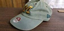 New Era Rare Rustic University Of Michigan Wolverines light green Cap Hat
