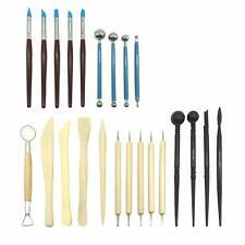 Conjunto De Herramientas De Tallado de Cera Jabón de Plastilina Modelar Esculpir talladores de artesanía detallada 12pc