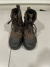 Itasca Mens Boots 7 Thinsulate Hiking Walking Brown Black Work