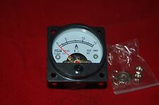 AC 0-15A Analog Ammeter Panel AMP Current Meter SO45 directly Connect
