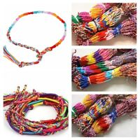 Hot Selling Wholesale Lot Braid Strands Friendship Cords Handmade Bracelets New