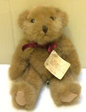 "Russ Chadsworth BEARS FROM THE PAST #1203 Lt Brown 8"" Plush Stuffed Bear Animal"