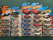 Hot Wheels Jdm Lot Of 23 Honda Civic Crx City Turbo Type R Acura Bisimoto