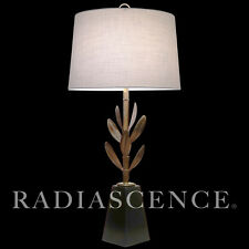 XL STIFFEL BAMBOO SCULPTURE ATOMIC HOLLYWOOD REGENCY MODERN BRASS TABLE LAMP '50
