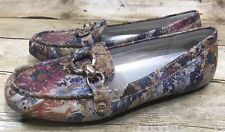 Women Anne Klein Shoes Size 6 Myles Driving Moccasins Loafers Multi Color Floral