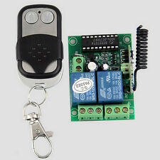 Universal Door Opener Remote Control Switch w/ Transmitter DC12V 433.92MHz