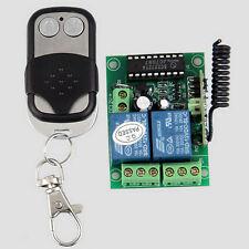 Gate Garage Wireless Remote Control Switch Opener + Self-locking Transmitter