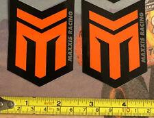2 Maxxis Racing Decals Stickers Bike Powersports Offroad Ultra4 Bitd Moto Atv Mx