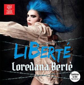 BERTE' LOREDANA LIBERTÉ VINILE LP 180 GR.VINILE COLORATO ROSSO NUMERATO LTD.ED.