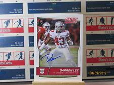 2016 Score Rookie Autographs #406 Darron Lee