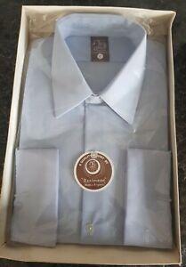 """BNIB Original & Vintage 1960's/70's Spence Bryson  Bri Nylon shirt """"17"""" boxed"""