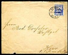 DR 1890 STADTPOST LEIPZIG F LIPSIA 19 BRIEF 400JA`HRE MESSE(J4371b
