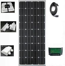 200W 12V battery solar charging kit/200 watt panel Caravans Boats Motor New