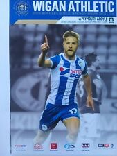 Wigan Athletic v Plymouth Argyle Sky Bet League One 26/9/2017 MINT CONDITION