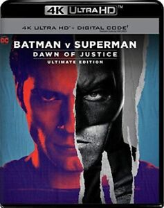 Batman v Superman (Ultimate Edition)(Remastered)(4K Ultra HD Blu-ray)