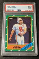 1986 Topps Steve Young ROOKIE #374 PSA 9! FREE SHIPPING!