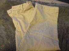 BOYS TAN KHAKIS DRESS PANTS ADJUSTABLE WAIST SIZE 7 GEORGE BRAND
