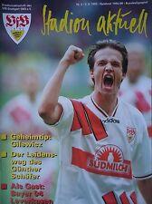 Programm 1995/96 VfB Stuttgart - Bayer Leverkusen