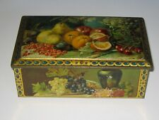 Vintage Tin Box NO KEY