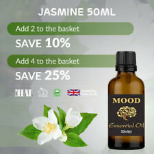 Mood Essential Oils Pure and Natural Aromatheraphy 10ml Jasmine Oil (8438504013226)