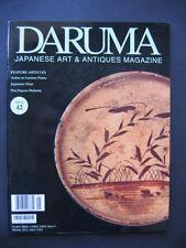 Japanese Daruma Magazine 42 Andon Lantern Plates Glass Jingasa Helmets Tea Print
