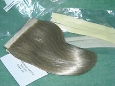 extra wide straight add-a-fall velcro extensions modacrylic fiber hair blond