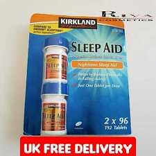 Kirk land Sleep Aid Sleeping Pill Doxylamine Succinate Insomnia 25mg x96 Tablets