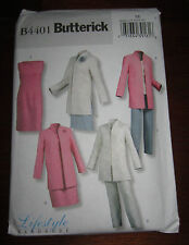 New Butterick B4401 Lifestyle Wardrobe Sewing Pattern, Size EE 14-20
