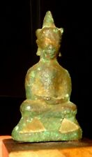 RARE BOUDDHA EN BRONZE - THAILAND - SIAM 1500 AD - AYUTTHAYA - BRONZE BOUDDHA