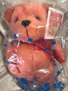 Avon Valentino The Live Teddy Bear Plush
