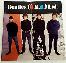 ORIGINAL Vintage 1966 Beatles USA Ltd Concert Tour Program