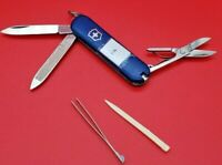 RED VICTORINOX  CLASSIC SD SWISS ARMY POCKET KNIFE MULTI TOOL - BLUE -1