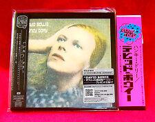 David Bowie Hunky Dory JAPAN MINI LP CD TOCP-70143 + PROMO OBI