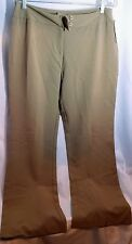 NWT Women's Ilyse Hart Ltd. Tan Brown Dress Pants Size 12 Two-Button (B9)