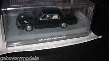 JAMES BOND 007 MOVIE CARS 1/43 GAZ VOLGA  BLACK FROM GOLDENEYE MOVIE