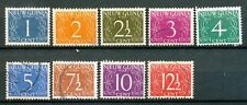 Nederlands Nieuw Guinea  1 - 9 gebruikt (2)