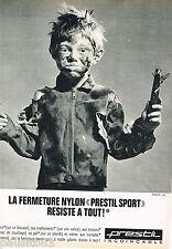 PUBLICITE ADVERTISING 065  1966  PRESTIL   fermetures éclair