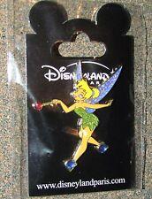 B5  PIN DISNEY PARIS DISNEYLAND NEW CARD TINKER BELL MAGIC WAND SHOES JEWELD