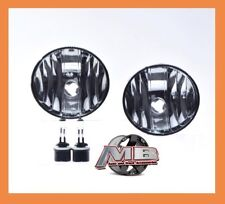 2002-2008 GMC Envoy Fog Lights Clear Lens Front Driving Bumper Lamps PAIR