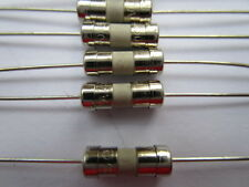 100 Pcs 3.6x10mm T4A 4amp 250V Miniature Ceramic Fuse Slow Blow Fine Wire New