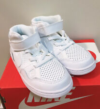Nike Son of Force Mid (TD) White Toddler Boy's Shoes - Asst Sizes NWB 615162-109