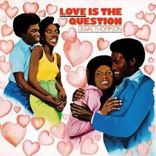 Linval Thompson(Vinyl LP)Love Is The Question-Burning Sounds-BSRLP918-E-M/M