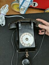 French Vintage 1960 Rotary PTT Telephone Mother in Law Ear Piece